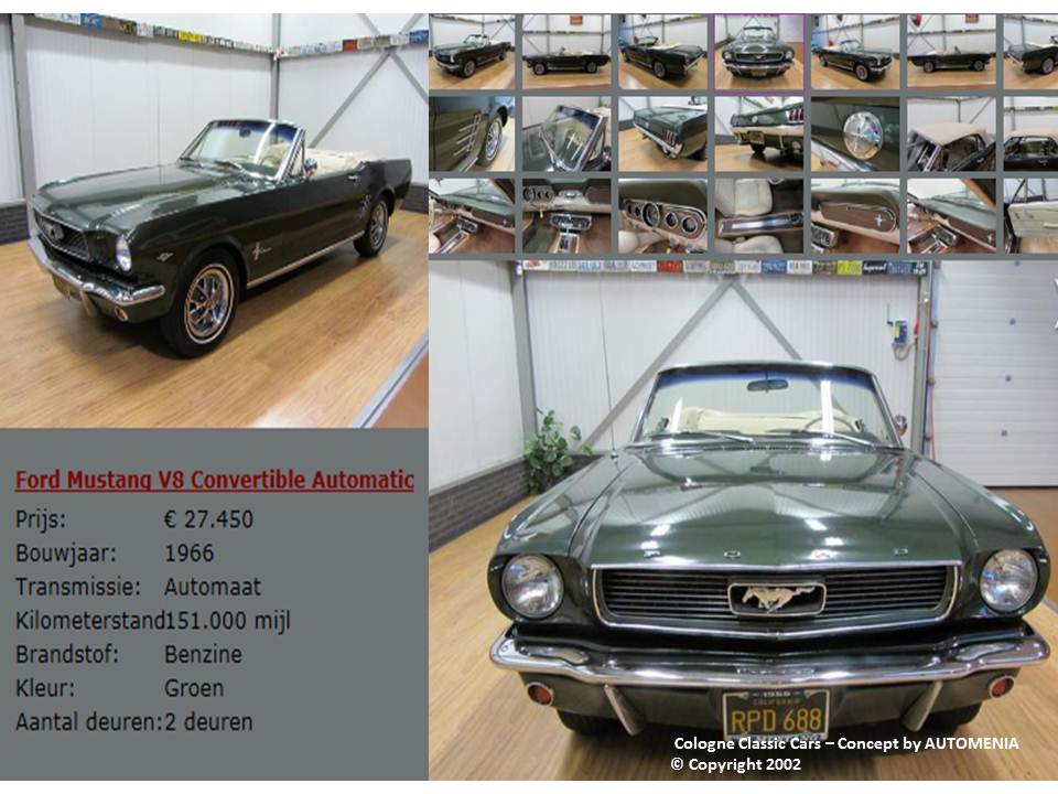 Ford Mustang Cabrio by AUTOMENIA
