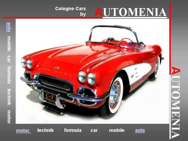 Classic Cars by AUTOMENIA 2013