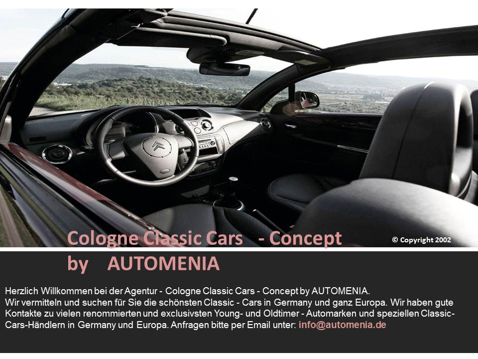 Cologne Classic Cars Concept by AUTOMENIA 2002-2012
