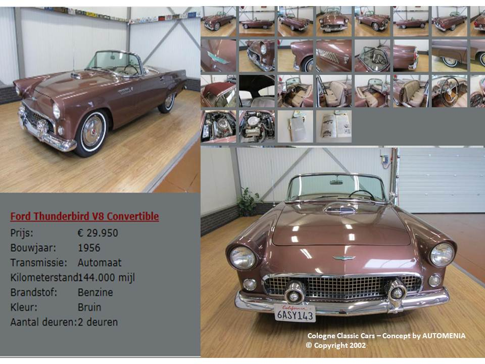 Ford Thunderbird Cabrio by AUTOMENIA