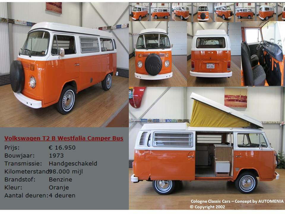 VW Camper Bus by AUTOMENIA